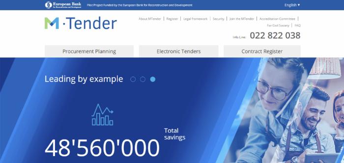 MTender digital procurement system – Moldova - Observatory