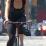 1a A woman cyclist--