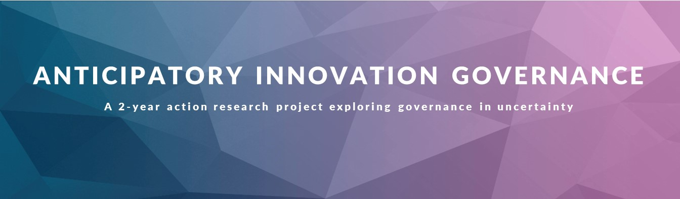Anticipatory Innovation Governance