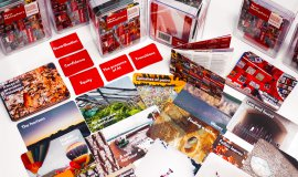 A selection of the New Metaphors cards laid out