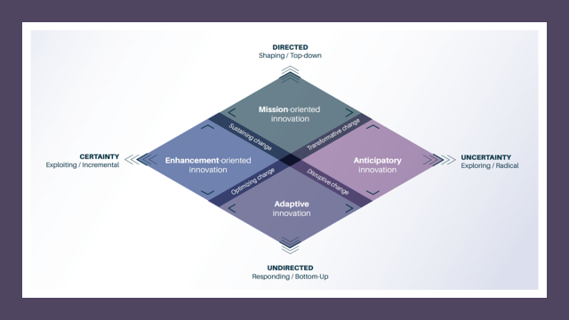A depiction of the OPSI Innovation Facets Model