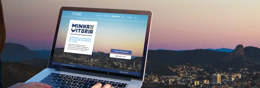 Minha Vitória: Urban Master Planning collaboration platform